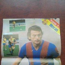 Coleccionismo deportivo: REVISTA BARCELONISTA BARÇA Nº856 1981 POSTER MORAN RAMOS EPI. Lote 152438502