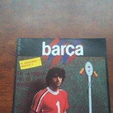 Coleccionismo deportivo: REVISTA BARCELONISTA BARÇA Nº4 1983 ALEXANCO R.SOCIEDAD 1-BARÇA 0. Lote 152440086