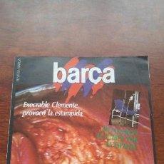 Coleccionismo deportivo: REVISTA BARÇA Nº 19 1983 LESION MARADONA POSTER CARRASCO TROBADA DE PENYES BERGA. Lote 152444066
