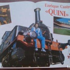 Coleccionismo deportivo: REVISTA BARÇA Nº 20 1983 POSTER QUINI A TODO TREN. Lote 152444426