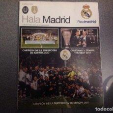 Coleccionismo deportivo: REVISTA OFICIAL HALA MADRID DEL EQUIPO DE FÚTBOL REAL MADRID. NUMERO 64. ACM. Lote 152807994