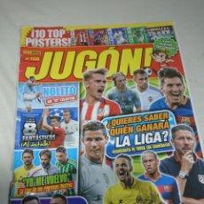 Coleccionismo deportivo: REVISTA JUGON 108 CON 8 POSTERS. Lote 152975360