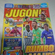 Coleccionismo deportivo: REVISTA JUGON 113. Lote 152975484