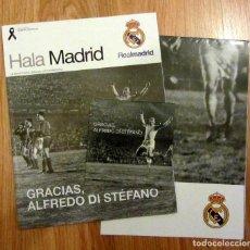 Coleccionismo deportivo: REVISTA HALA MADRID OFICIAL REAL MADRID JULIO 2014 ESPECIAL ALFREDO DI STEFANO. Lote 178832508