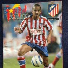 Coleccionismo deportivo: REVISTA FORZA ATLETI Nº 10 PROGRAMA OFICIAL ATLETICO MADRID REAL MADRID 2005 LUCCIN. Lote 153058770