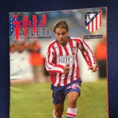Coleccionismo deportivo: REVISTA FORZA ATLETI Nº 13 PROGRAMA OFICIAL ATLETICO MADRID REAL SOCIEDAD 2005. Lote 153065934