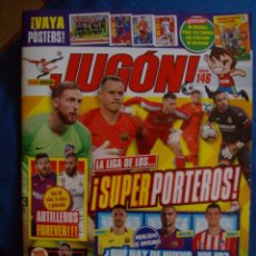 Coleccionismo deportivo: REVISTA JUGON Nº 146 MARZO 2019 CON POSTERS NO INCLUYE ALBUM MERCADO INVIERNO NI CROMOS. Lote 153644014