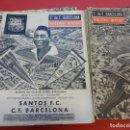 Coleccionismo deportivo: CF BARCELONA. LOTE PRIMEROS NÚMEROS BOLETIN OFICIAL. PRIMEROS AÑOS 1960S. Lote 153828446