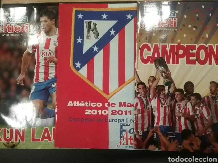 3 REVISTAS FORZA ATLETI (Coleccionismo Deportivo - Revistas y Periódicos - otros Fútbol)