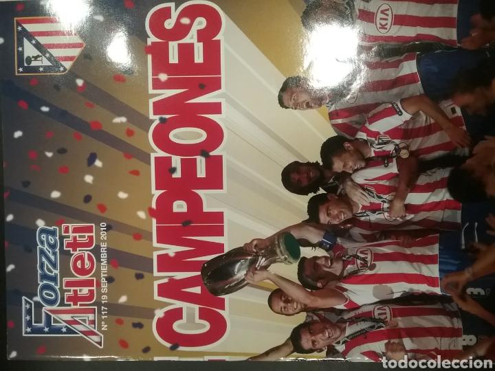 Coleccionismo deportivo: 3 revistas FORZA ATLETI - Foto 4 - 154311017