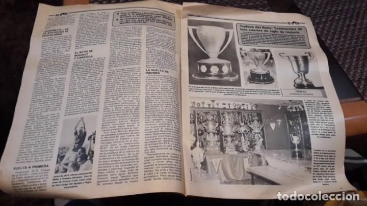 Coleccionismo deportivo: ABC 75 años del Real Betis - Foto 2 - 154340690