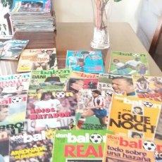 Coleccionismo deportivo: REVISTAS ANTIGUAS AÑOS 80 - EXCELENTE LOTE DON BALON FUTBOL (50 REVISTAS). Lote 154685638