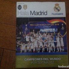 Coleccionismo deportivo: REVISTA DE FÚTBOL HALA MADRID. NUMERO 69. REAL MADRID. ACM. Lote 154816570