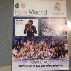 Coleccionismo deportivo: REVISTA DE FÚTBOL HALA MADRID. REAL MADRID. BALONCESTO. NUMERO 68. ACM. Lote 154893998