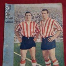 Coleccionismo deportivo: REVISTA DEPORTIVA FUTBOL DICEN Nº 177 MAURI Y MAGUREGUI ATLETIC DE BILBAO. Lote 155212938