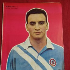 Coleccionismo deportivo - REVISTA DEPORTIVA FUTBOL DICEN Nº208 PORTADA JUGADOR BASORA II C.D.CONDAL - 155217086