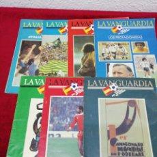 Coleccionismo deportivo: FASCICULOS LA VANGUARDIA. COPA DEL MUNDO DE FUTBOL. Lote 155225529