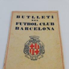 Coleccionismo deportivo: BUTLLETÍ FUTBOL CLUB BARCELONA BOLETIN BARÇA MAIG MAYO 1928 FC NUMERO 2 ANY 1. Lote 155263633