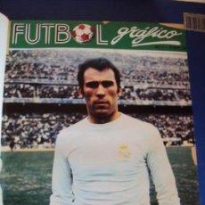 Coleccionismo deportivo: (F-190345)REVISTAS FUTBOL GRAFICO AÑOS 70 ENCUADERNADAS. Lote 155330278