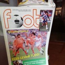 Coleccionismo deportivo: REVISTA ANTIGUA EUROCOPA 88 . FOOT PORTUGAL. Lote 155415862