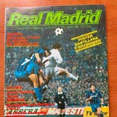 Coleccionismo deportivo: ANTIGUA REVISTA REAL MADRID. 3ª EPOCA, Nº 395 ABRIL DE 1983. BOLETIN INFORMATIVO MENSUAL.. Lote 155485086