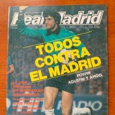 Coleccionismo deportivo: ANTIGUA REVISTA REAL MADRID. 3ª EPOCA, Nº 392 ENERO DE 1983. BOLETIN INFORMATIVO MENSUAL.. Lote 155485310