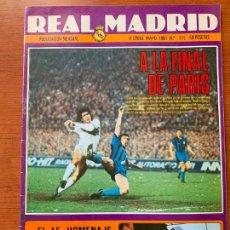 Coleccionismo deportivo: ANTIGUA REVISTA REAL MADRID. 2ª EPOCA, Nº 375 MAYO 1981. BOLETIN INFORMATIVO MENSUAL.. Lote 155486078