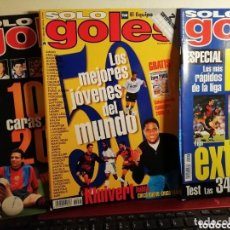 Coleccionismo deportivo: REVISTAS ANTIGUAS AÑOS 90. NUMEROS 1 2 Y 3..... Lote 155541274