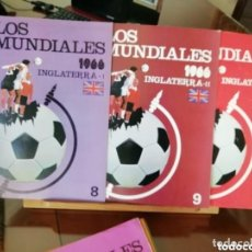 Coleccionismo deportivo: 30 FASCICULOS ANTIGUOS. COLECCIÓNABLE SERIAL MUNDIALES.. Lote 155691854