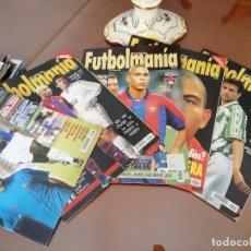 Coleccionismo deportivo: REVISTAS ANTIGUAS FUTBOL . LOTE AÑOS 90 . FUTBOLMANIA. Lote 155763838