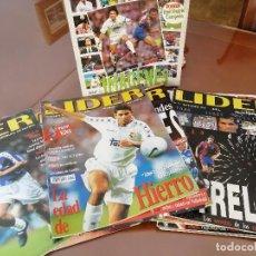 Coleccionismo deportivo: REVISTAS ANTIGUAS FUTBOL EQUIPO LIDER .LOTE AMPLIO. AÑOS 90.. Lote 155765598