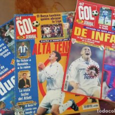 Coleccionismo deportivo: REVISTA EL GOL SEMANAL AÑO 1996 - PRIMEROS NUMEROS . Lote 155914326