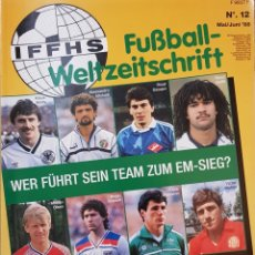 Coleccionismo deportivo: REVISTA ALEMANA EUROPAMEISTERSCHAFT 1986-1988.. Lote 156558929