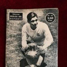 Coleccionismo deportivo: COLECCIÓN IDOLOS DEL DEPORTE Nº 26 MARQUITOS REAL MADRID, FÚTBOL, LIGA ESPAÑOLA AÑOS 50. Lote 156993346