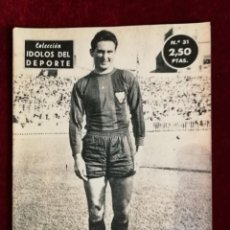 Coleccionismo deportivo: COLECCIÓN IDOLOS DEL DEPORTE Nº 31 WILKES LEVANTE U. D. , FÚTBOL, LIGA ESPAÑOLA AÑOS 50. Lote 156994390