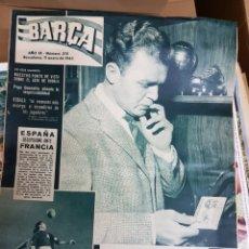 Coleccionismo deportivo: REVISTA BARCA KUBALA 1963. Lote 157126025