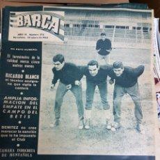 Coleccionismo deportivo: REVISTA BARCA 1963. Lote 157133568