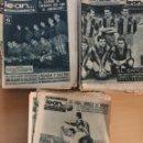 Coleccionismo deportivo: LEAN... LOTE DE 40 PERIODICOS FINALES 50 Y PRINCIPIOS AÑOS 60. Lote 157322946