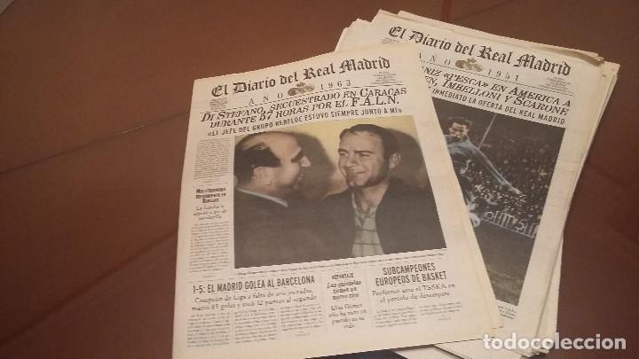 PERIODICO REAL MADRID 1954 . DIARIO OFICIAL .HISTORICO (Coleccionismo Deportivo - Revistas y Periódicos - otros Fútbol)