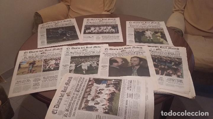 Coleccionismo deportivo: PERIODICO REAL MADRID 1955 . DIARIO OFICIAL .HISTORICO - Foto 3 - 157335150