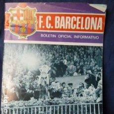 Coleccionismo deportivo: F.C.BARCELONA BOLETIN OFICIAL INFORMATIVO N.30 1974. Lote 157427710