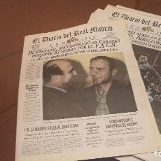 Coleccionismo deportivo: REAL MADRID CF. DIARIO OFICIAL - AÑO 1962- 63 // 2 PERIODICOS. Lote 158218634
