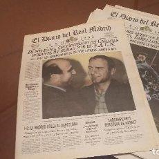 Coleccionismo deportivo: REAL MADRID CF. DIARIO OFICIAL - AÑO 1965. LA 5 LIGA Y COPA EUROPA BASKET. Lote 158218986
