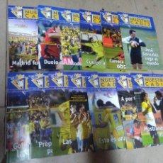 Coleccionismo deportivo: LOTE REVISTA DEPORTIVA NUESTRO CÁDIZ AÑO 2005 ( 13 EJEMPLARES ) VER LEYENDA Y FOTOGRAFÍAS. Lote 158437338