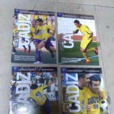Coleccionismo deportivo: LOTE REVISTA DEPORTIVA NUESTRO CÁDIZ AÑO 2006 ( 4 EJEMPLARES ) VER LEYENDA Y FOTOGRAFÍAS. Lote 158439446