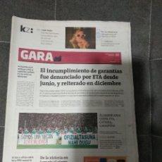 Coleccionismo deportivo: GARA VENEZUELA 3 SELECCION DE EUSKADI 4 / JUNIO 2007. Lote 158611186