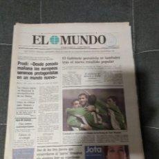 Coleccionismo deportivo: EL MUNDO SELECCION DE EUSKADI 2 GHANA 2 / DICIEMBRE 2001. Lote 158611290