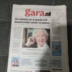 Coleccionismo deportivo: GARA ALAVES PASE A LA SEGUNDA RONDA DE UEFA / 2002. Lote 158612070