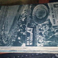 Coleccionismo deportivo: REVISTA REAL MADRID N° 104 DE 1959. Lote 158953758