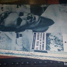 Coleccionismo deportivo: REVISTA REAL MADRID N° 123 DE 1960. Lote 158956218